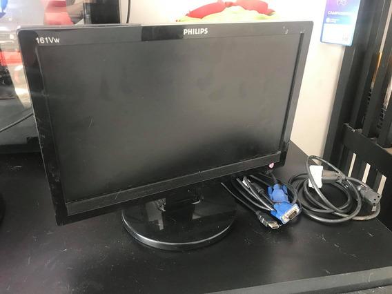 Monitor Philips 15 Polegadas (com Adaptador Hdmi)