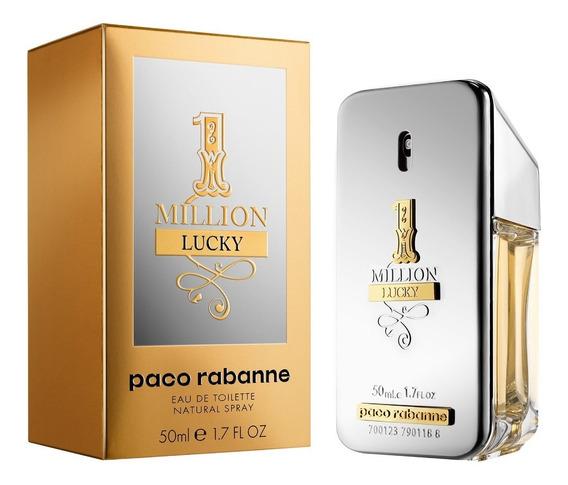 Paco Rabanne One 1 Million Lucky 50ml + Amostra De Brinde