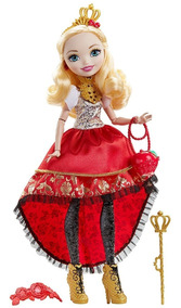 Boneca Ever After High - Princesas Valentes - Apple White