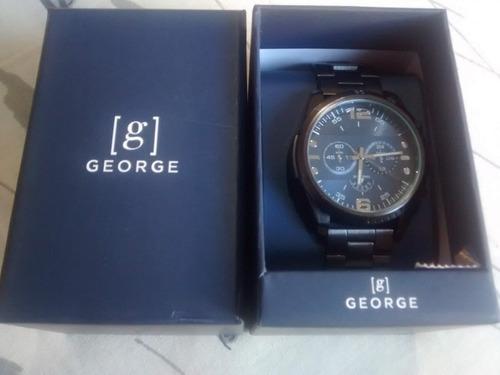 Relógio De Pulso - George - Novo - Na Caixa - Com Manual