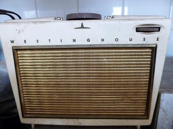 Radio Westinghouse Com Válvulas Único Dono Raridade 1956