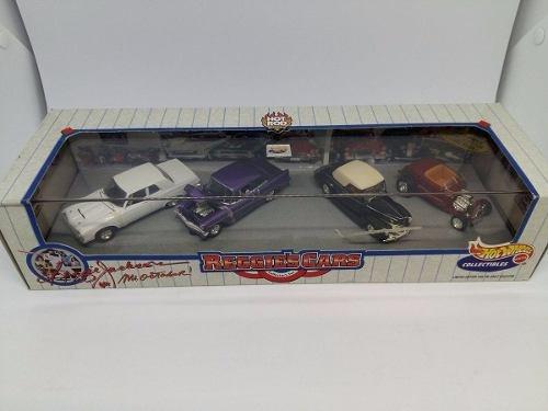 Hot Wheels Set 100% - Reggies Cars - 4 Vehiculos - 1:64
