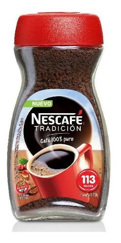 Imagen 1 de 10 de Nescafe Tradicion Clasico Cafe Instantaneo Libre De Gluten