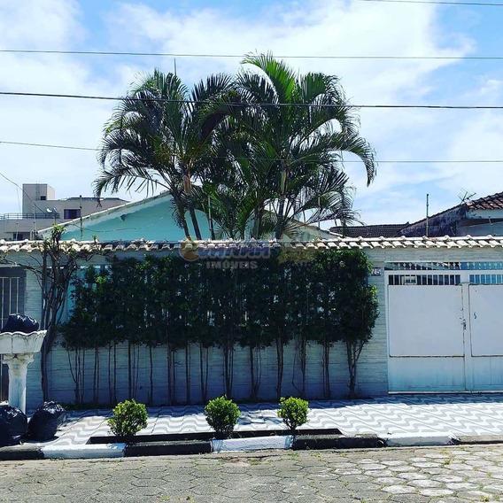 Casa Com 4 Dorms, Agenor De Campos, Mongaguá - R$ 320 Mil, Cod: 7348 - V7348