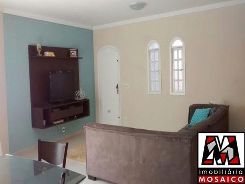 Imagem 1 de 11 de Casa Assobradada No Jardim Caçula Parte Alta Do Bairro Financiável Permuta - 23153 - 68539747