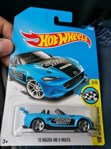 Hot Wheels Mazda Mx5 Miata Azul
