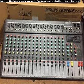 Consola De Audio Mixer Sonido 16 Canales Fx E-sound Fx-1630u