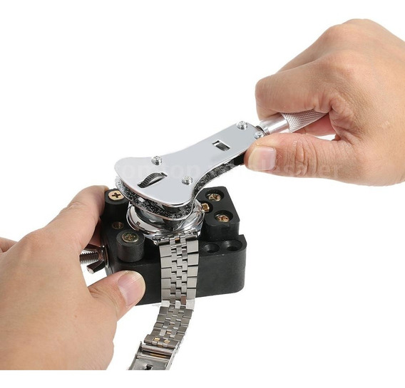 Kit Ferramenta Conserto Relógio Relojoeiro 19pç Frete Grátis