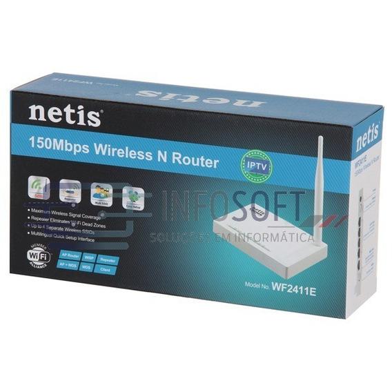 Roteador Netis Wf2411e 150 Mbps