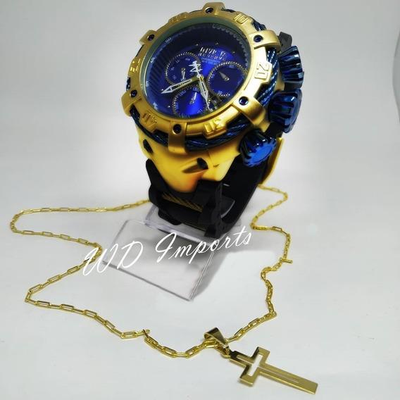 Kit Relógio Thunder C/ Cordão & Pingente