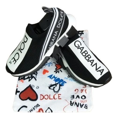 Tênis Dolce & Gabbana Top Moda Blog Unissex Frete Grátis