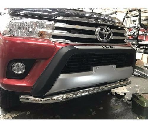 Defensa Baja Talampaya Toyota Hilux 2016+ Acero Inoxidable