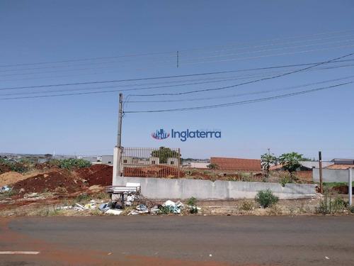 Imagem 1 de 6 de Terreno Para Alugar, 1350 M² - Columbia - Londrina/pr - Te0484