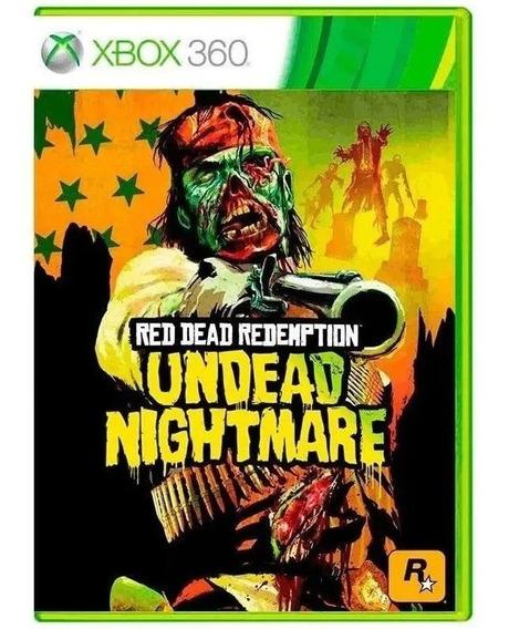 Jogo Xbox 360 Red Dead Redemption Undead Nightmare Original