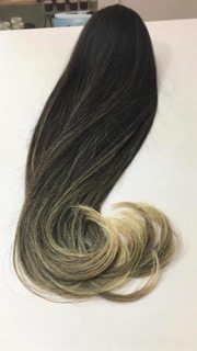 Cabelo Humano Indiano Ombre Hair Na Tela 200g 65cm