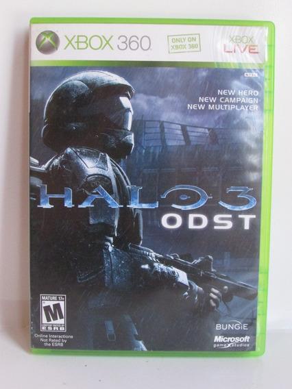 Halo 3 Odst Game Xbox 360 Original E Completo Americano Ntsc