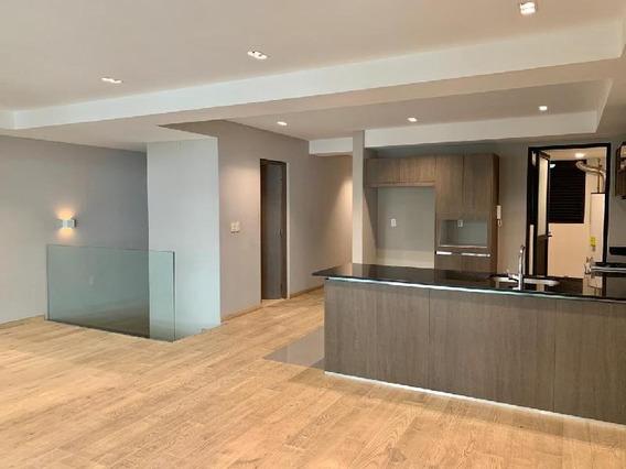 Departamento En Renta Polanco Con Vista Arbolada- Duplex