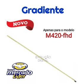 Barra De Leds Tv Gradiente M420-fhd Novas
