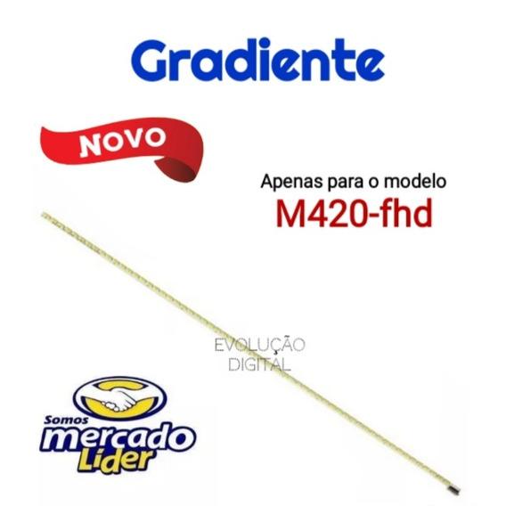 Barra De Leds Tv Gradiente M420-fhd Novos