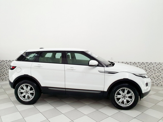 Land Rover Evoque Pure 2.0 16v 4wd Branco Interior Caramelo