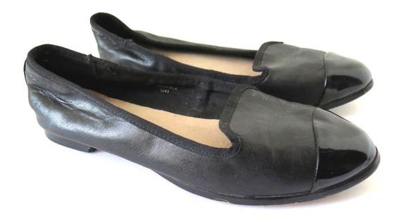 Mocasines Ballerinas Topshop Simil Cuero 35