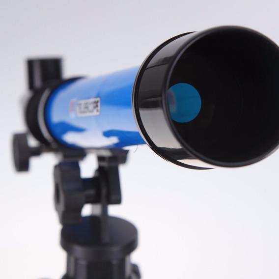 Lindo Telescópio Astronômico Refrator Com Tripé 20x 40x 60x