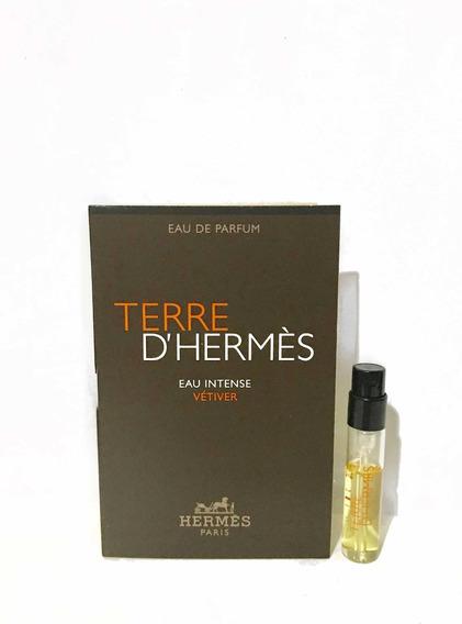 Terre Dhermes Intense Vetiver Amostra Original 2ml 02 Unid.