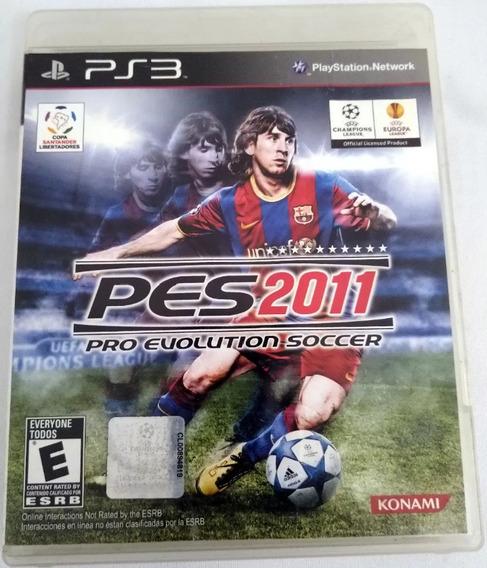 Jogo Pro Evolution Soccer 2011 Ps3
