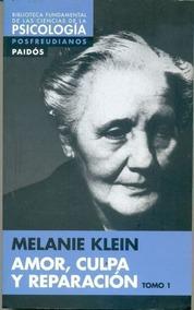 Livro Amor Culpa Y Reparacion Melanie Klein