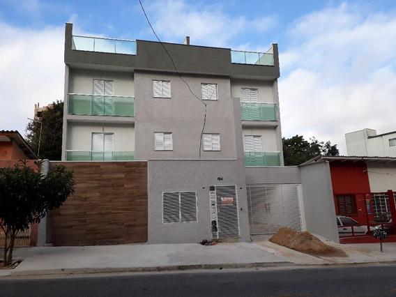 Cobertura À Venda, 110 M² Por R$ 329.000,00 - Vila Guiomar - Santo André/sp - Co0692