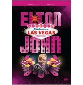 Dvd - Elton John Live In Las Vegas
