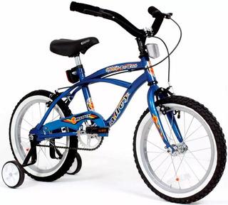 Bicicleta Playera Halley Rodado 16 Con Rueditas