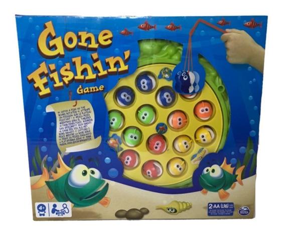 Pesca Peces Gone Fishin Juego De Mesa Spin Master