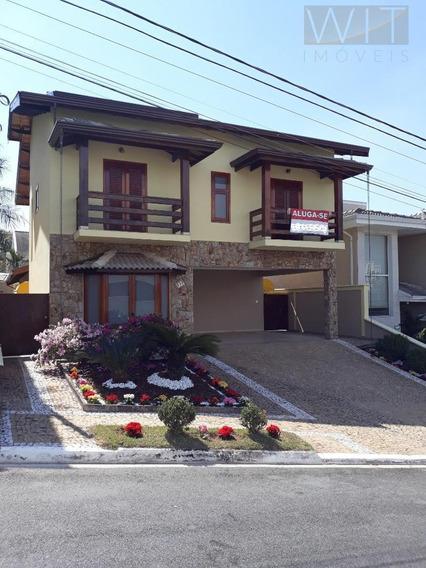 Casa Residencial Para Locação, Jardim Recanto, Valinhos. - Ca0334