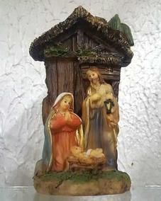 Presepio Sagrada Familia Natal 13cm Resina Casamento Jesus