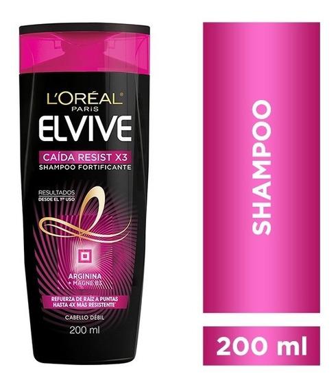 Elvive Shampoo Caida Resist X 200ml Farmahome
