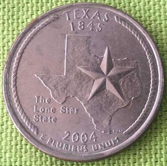 Usa : Quarter Dollar - Estado : Texas 2004