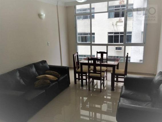 Apartamento Com 3 Dormitórios Para Alugar, 120 M² Por R$ 2/mês - Gonzaga - Santos/sp - Ap2125