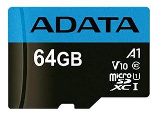 Tarjeta de memoria Adata ASDX64GUICL10-R Premier 64GB