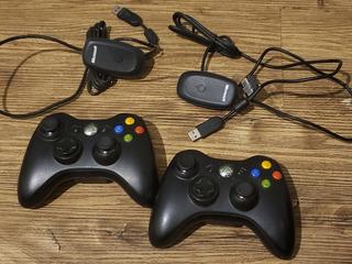 Joystick Xbox360 Inalámbrico Con Receptor Para Pc Original