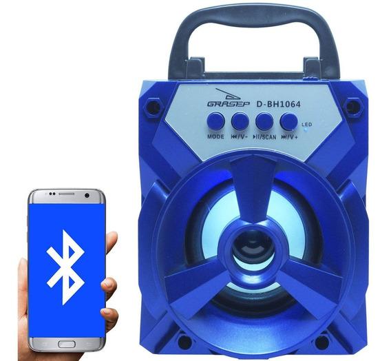Caixa Caixinha Som Amplificada Mp3 Usb Fm Bluetooth Portátil