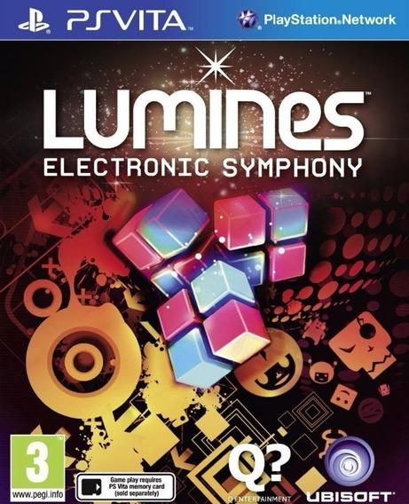 Lumines: Electronic Symphony Psvita Ps Vita - Psvita