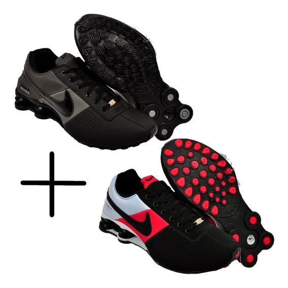 2 Pares De Shoe 4 Molas Masculino Feminino Promoção Original