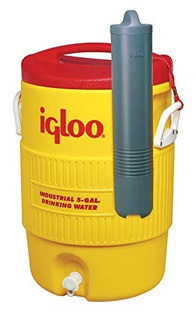 Dispensador De Agua Igloo Water Cooler W/cup Dispenser 5 Gal