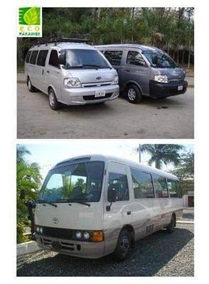 Alquiler De Vans, Viajes Al Interior, Traslados Ejecutivos