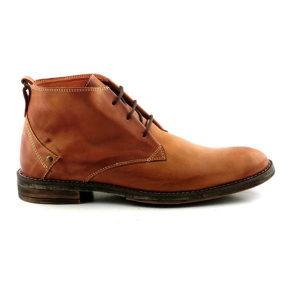 Zapato Cuero Hombre Briganti Bota Botita Goma - Hcbo00899
