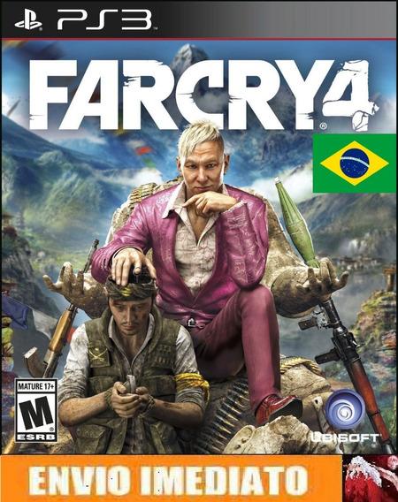 Far Cry 4 - Ps3 - Portugues/br - Cod Psn - Env Imediato.