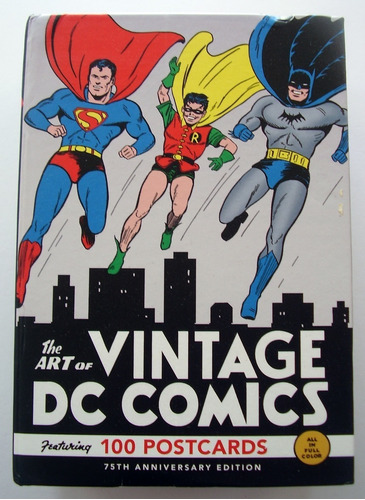 The Art Of Vintage Dc Comics 100 Tarjetas Postales
