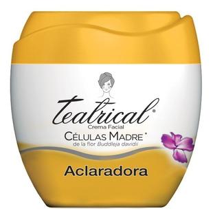 Teatrical Crema Facial Aclaradora Celulas Madre 100g