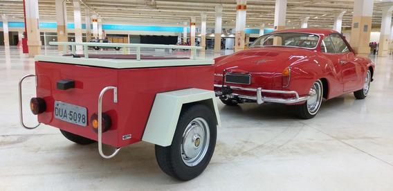 Karmann Guia Reboque Carretinha Vw Kombi Fusca Gm Fiat Ford